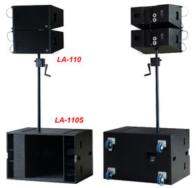 "Chiny Line Array Sound System, 2x1 ""+10"" 400W Line Array Speaker dla Living Event, DJ i Party dystrybutor"
